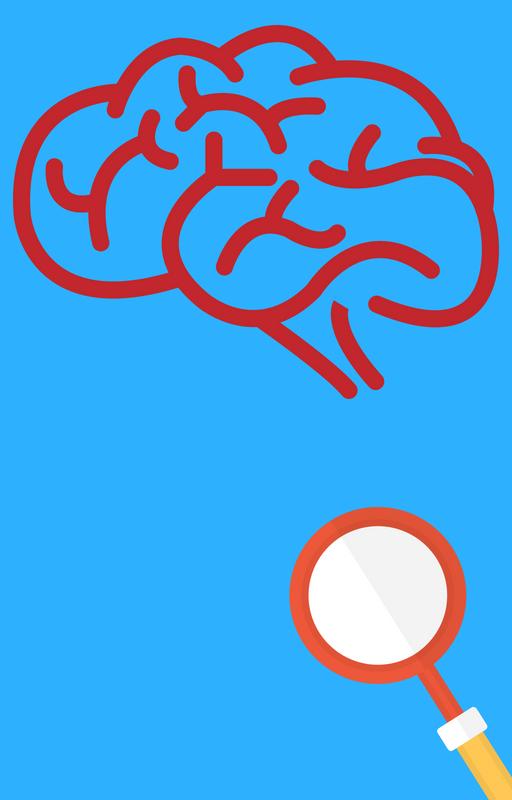 blog image human brain and magnifying glass