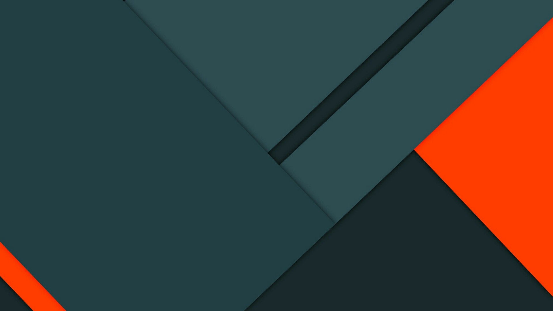 blog banner with dark green and red blocks