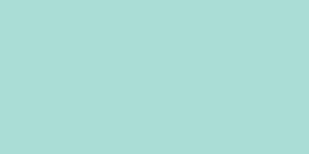 plain sea green blog banner