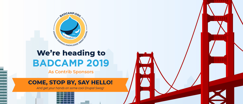 we are heading to BADCamp 2019