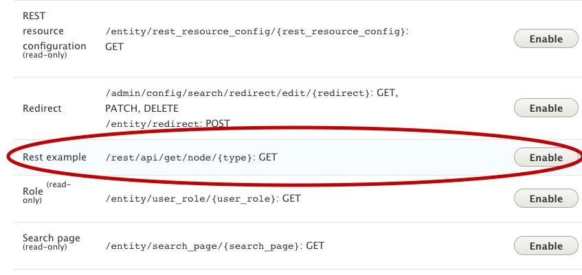 Creating a Custom REST Resource for GET Method in Drupal 8