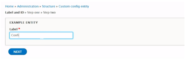 Example of multi-step form for a custom Config Entity