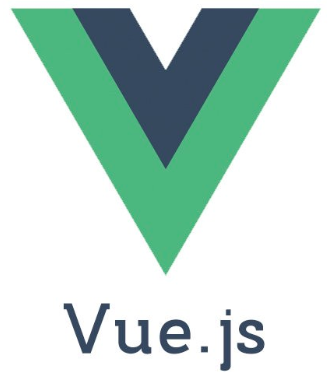 Logo of vuejs with a green coloured V alphabet