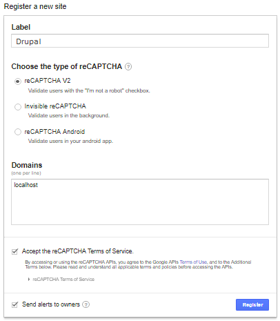 HowTo: Add CAPTCHA in forms of your Drupal 8 website
