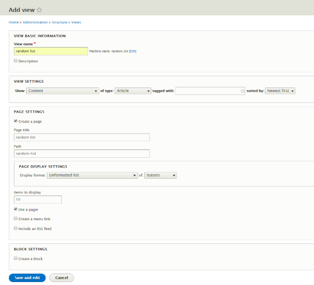 HowTo: Create a List of Random Items in Drupal 8 | Opensense