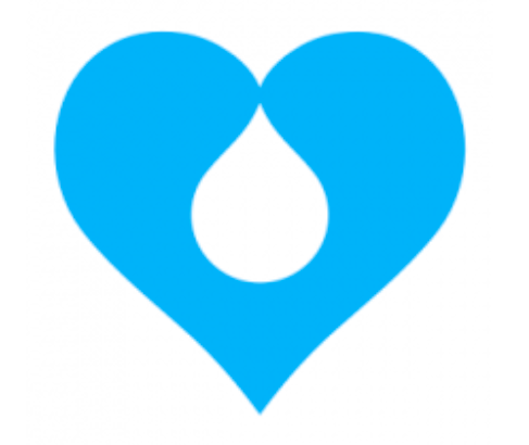 logo of Drupal Diversity and Inclusion contribution team in the shape of a droplet in blue