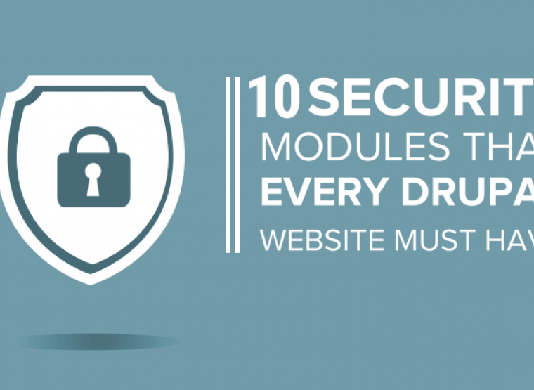 12 Must Have Security Modules For Your Drupal Website