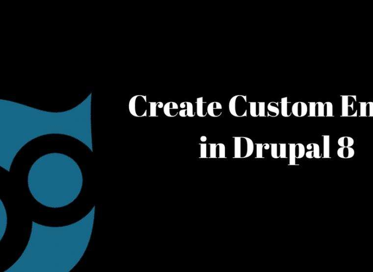 How to create Custom Entity in Drupal 8 | Opensense Labs