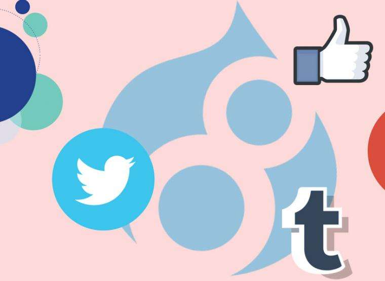 HowTo: Add Social Media Icon In Drupal 8 Website | Opensense