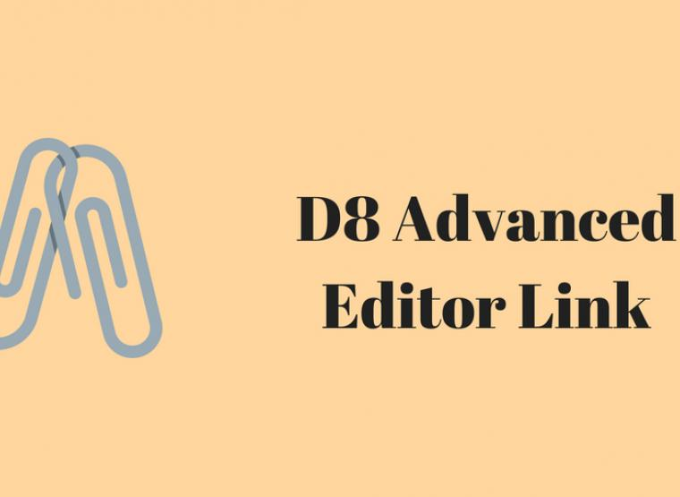 Using D8 Editor Advanced Link to Link Content | Opensense Labs