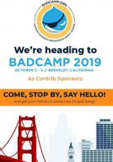 BadCamp information poster