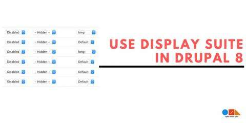 Use Drupal Display suite to manage the layout in site